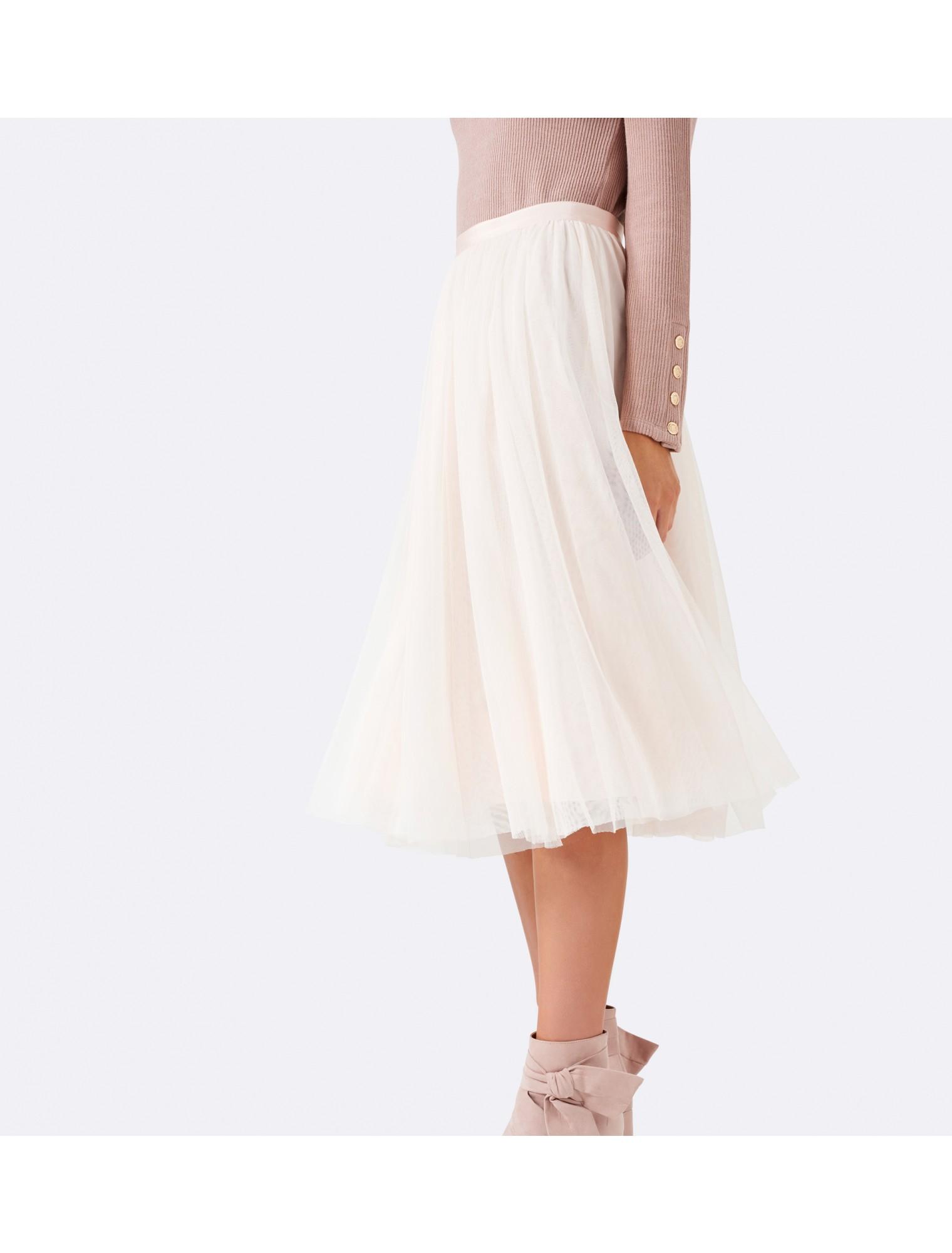 Tulle Midi Skirt | Tulle Skirt Plus Size | Flowy Midi Skirt
