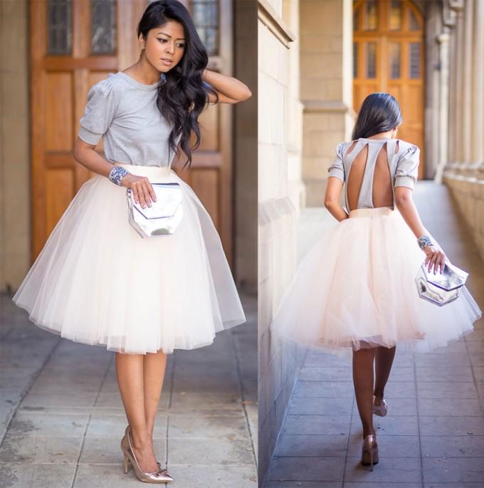 Tulle Midi Skirt   Tulle Skirt Plus Size   Flowy Midi Skirt
