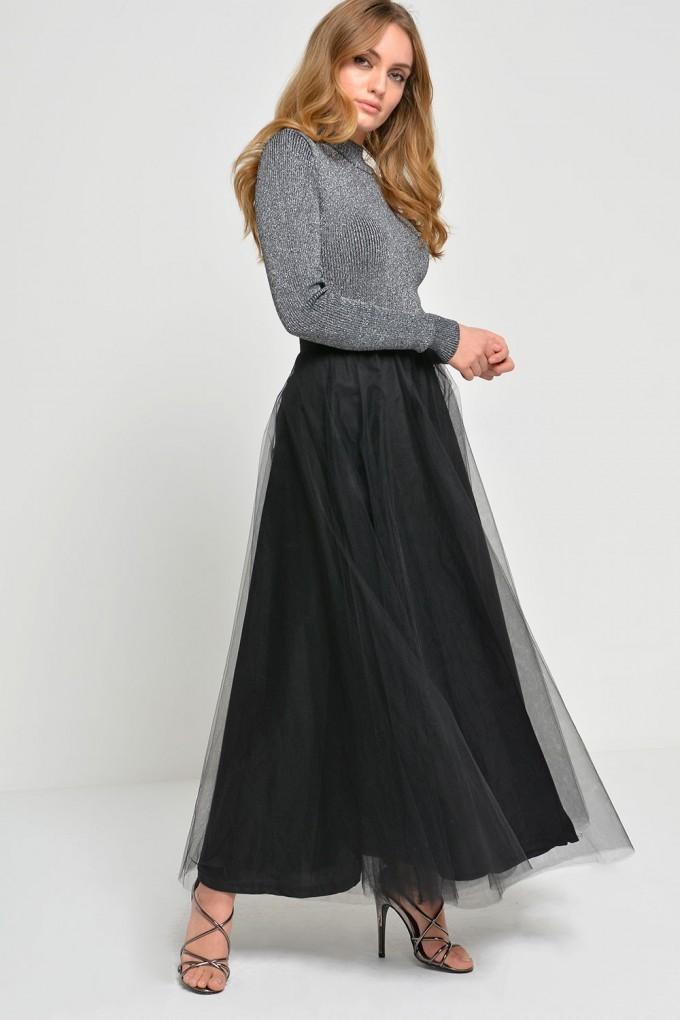 Tulle Midi Skirt | Tulle Skirts For Adults | Long White Tutu Skirt