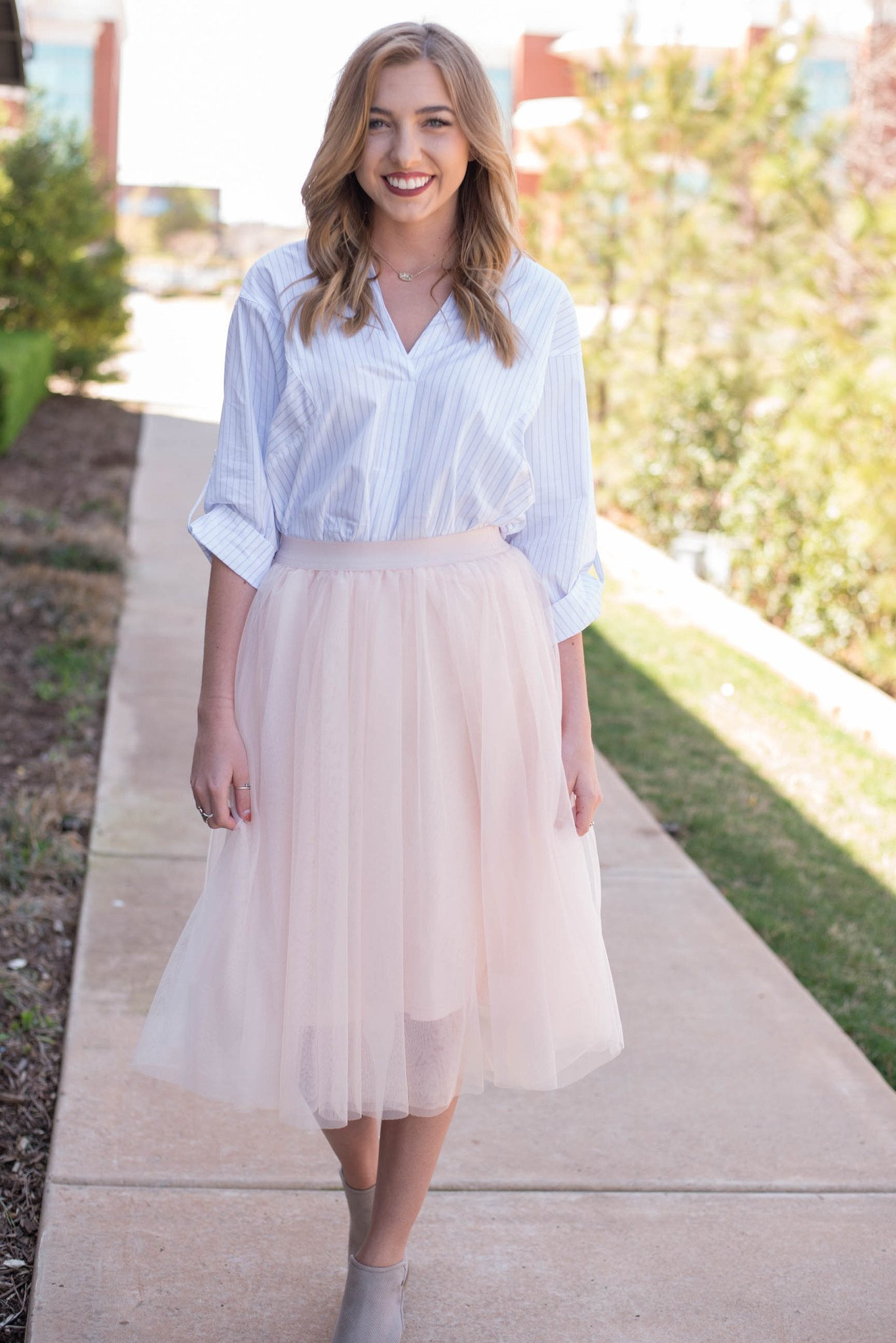 Tulle Midi Skirt | Tulle Skirts for Adults | Tulle Skirt Wedding
