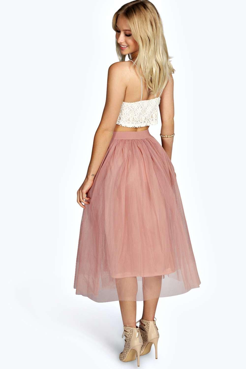 Tulle Midi Skirt | Tutu Tulle Skirt | Where to Buy Tulle Skirt