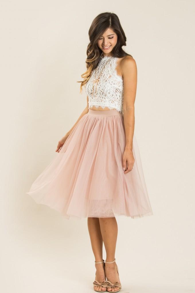 Tulle Skirt Dress | Tulle Midi Skirt | Puffy Skirt Dress