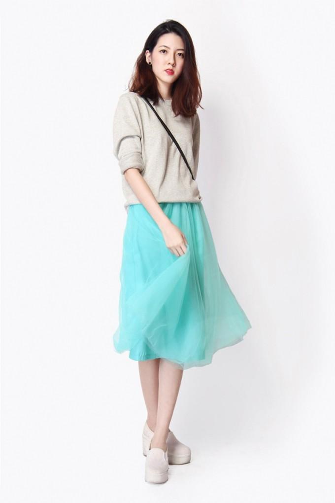 Tulle Skirt For Adults | Tulle Midi Skirt | Womens Long Tulle Skirt