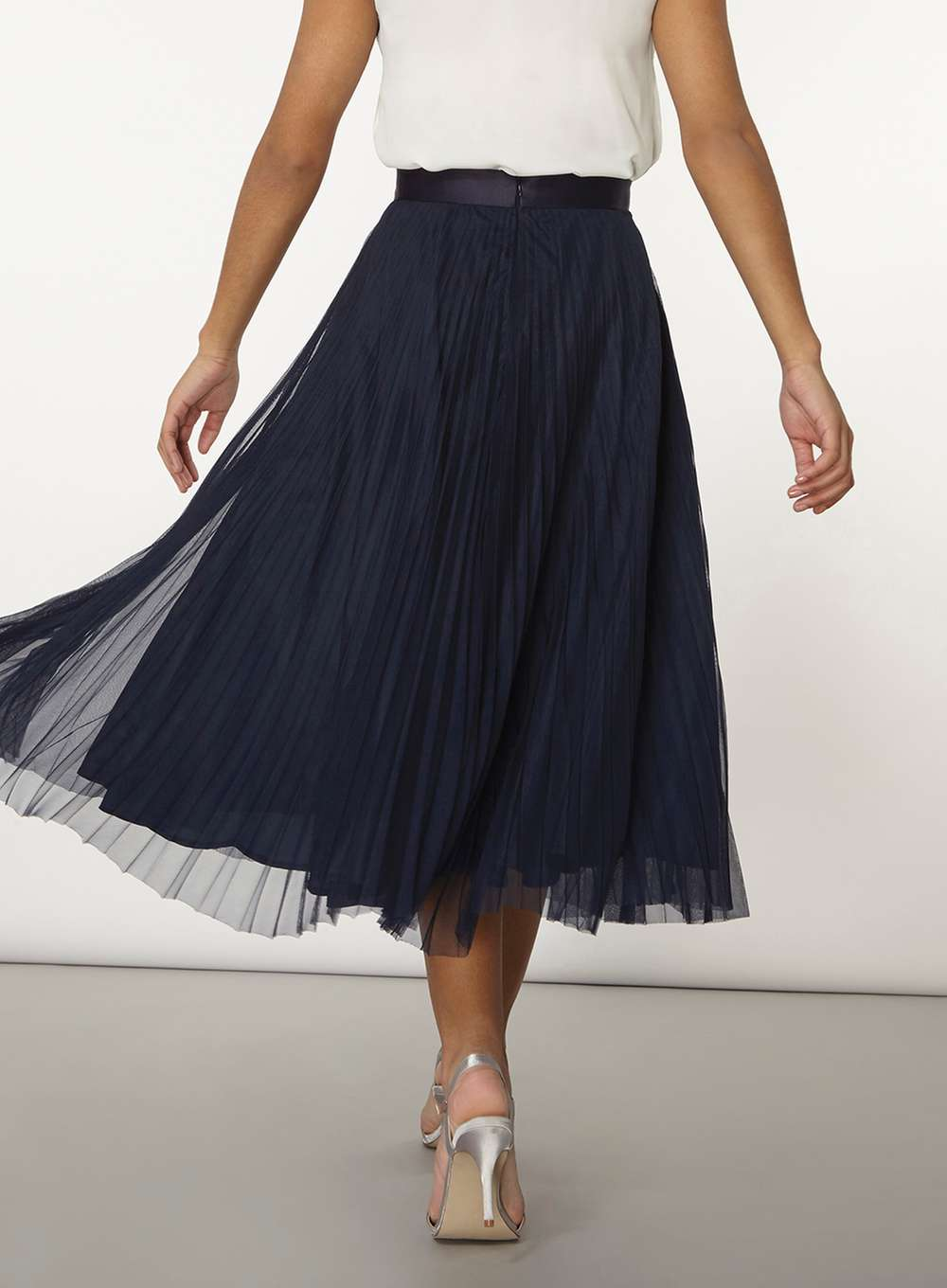 Tulle Skirts for Adults | Tulle Midi Skirt | Grey Tulle Skirt