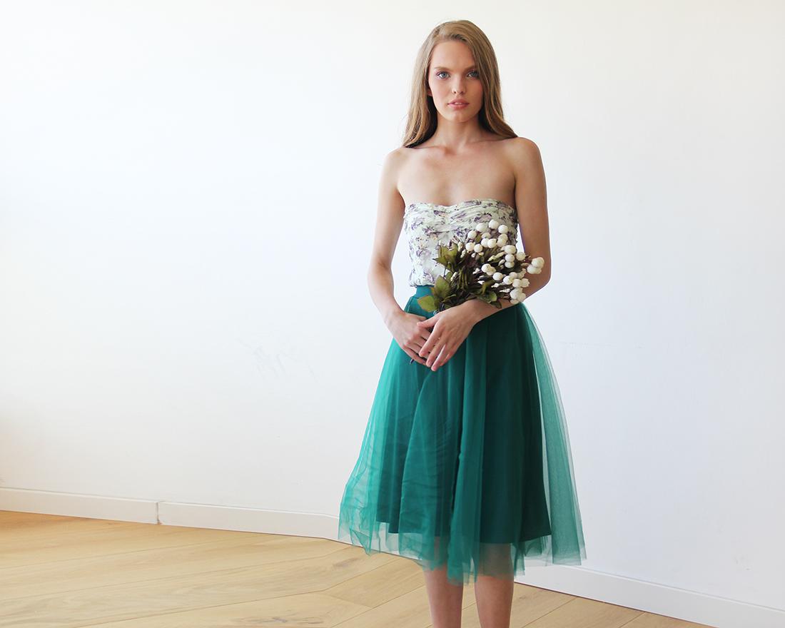 Tutu Tulle Skirt | Tulle Midi Skirt | Blush Tulle Skirt