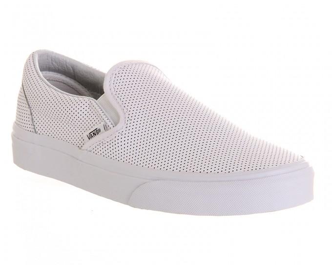 Vans Checkered Slip Ons | White Van Slip Ons | Girl Vans Shoes
