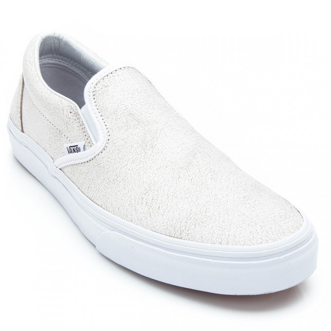 Vans Old Skool Gum Sole | White Van Slip Ons | Cheap Vans Shoes For Sale