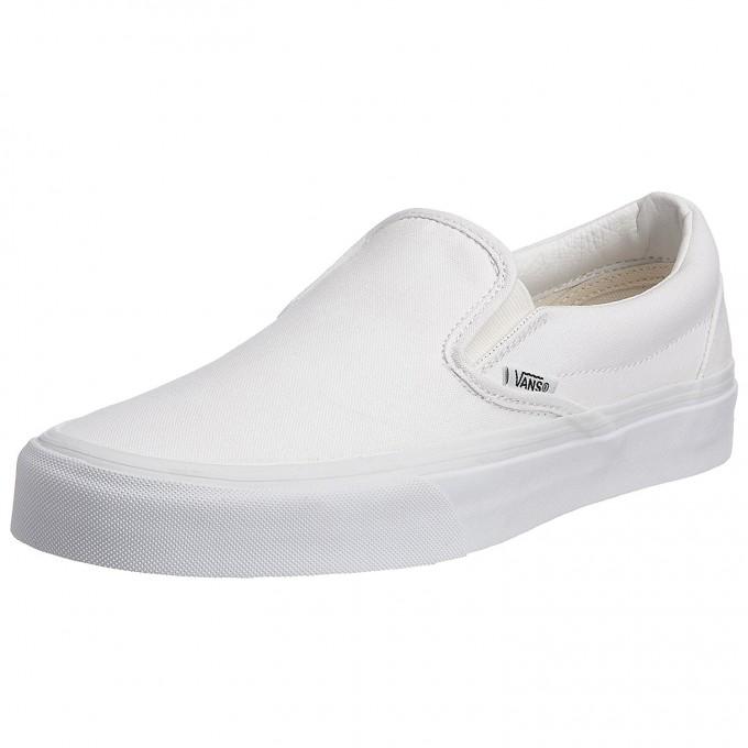 Vans Slip On Skate Shoe | Vans Shoes At Kohls | White Van Slip Ons