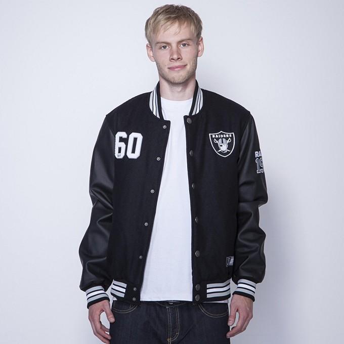 Varsity Jacket Raiders | Raiders Coat | Raiders Letterman Jacket