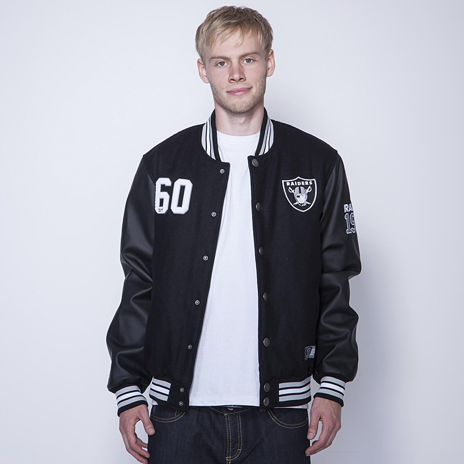 Varsity Jacket Raiders | Raiders Coat | Raiders Letterman Jacket