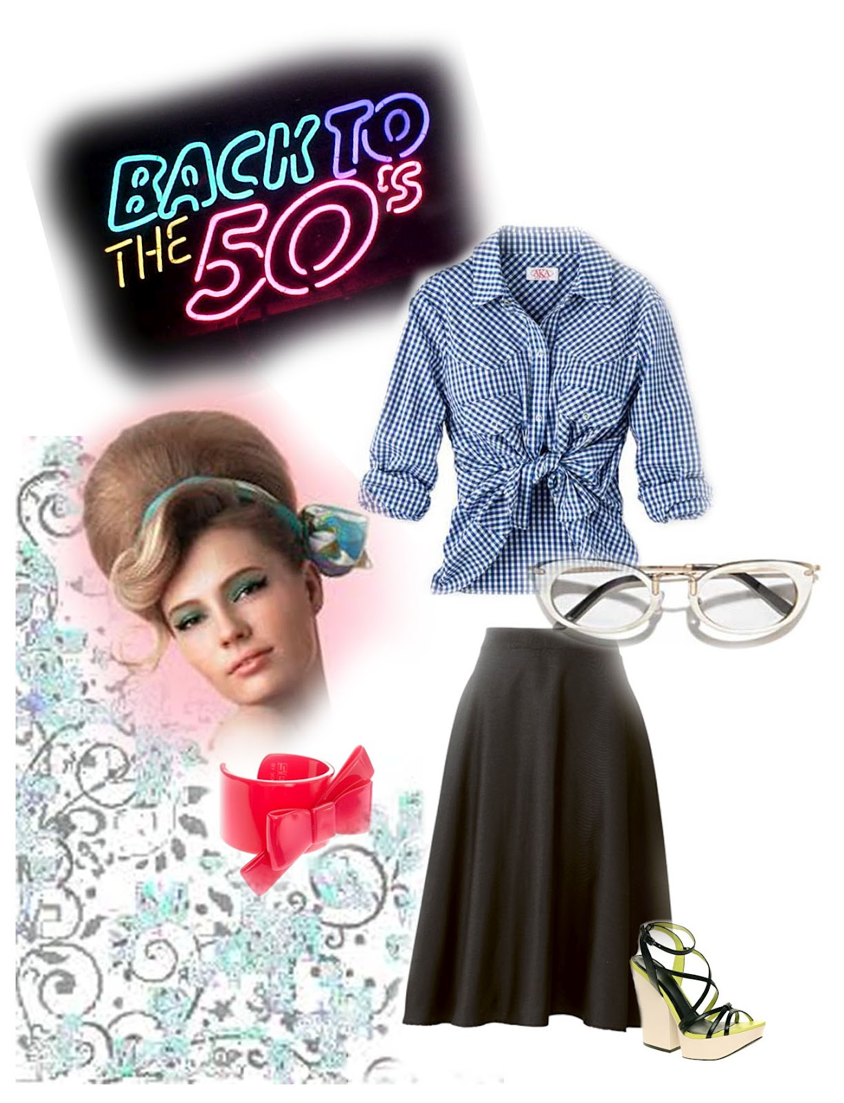 Waitress Costume | 1950s Skirt | 50s Attire