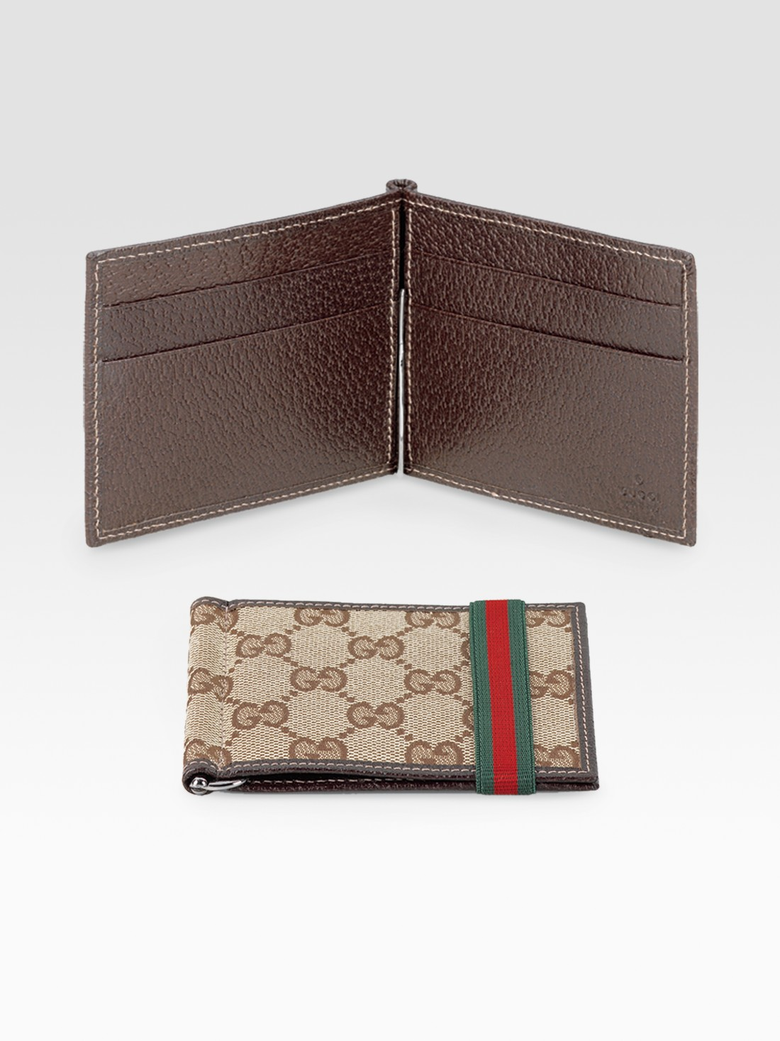 Wallets for Mens Designer | Gucci Money Clip | Bifold with Money Clip