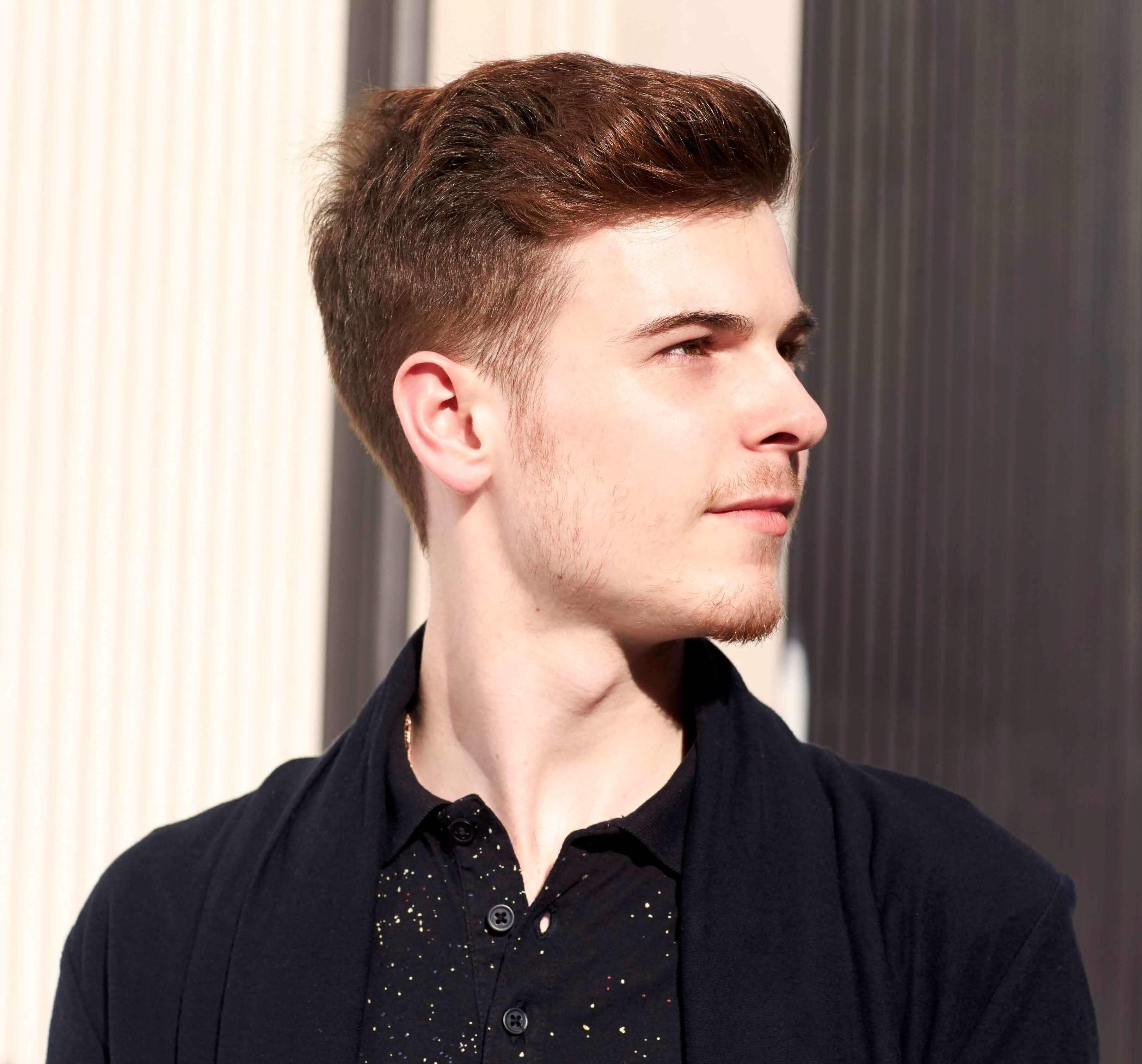 Wavy Pompadour | Mens Quiff | Haircut Tutorial