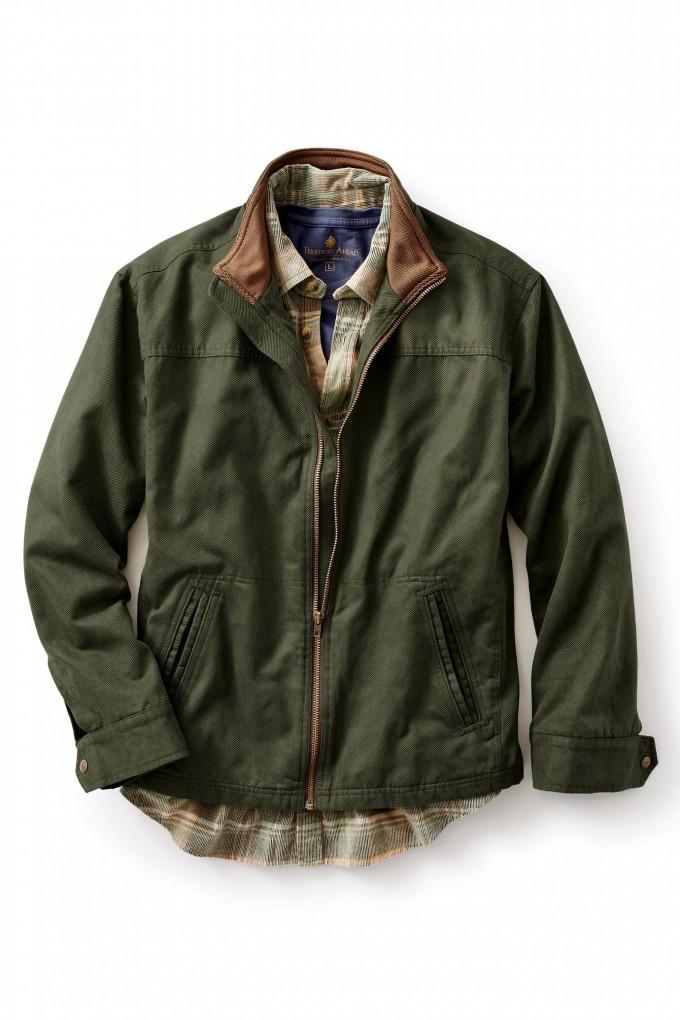 Wax Canvas Jacket | Orvis Heritage Field Coat | Orvis Field Coat