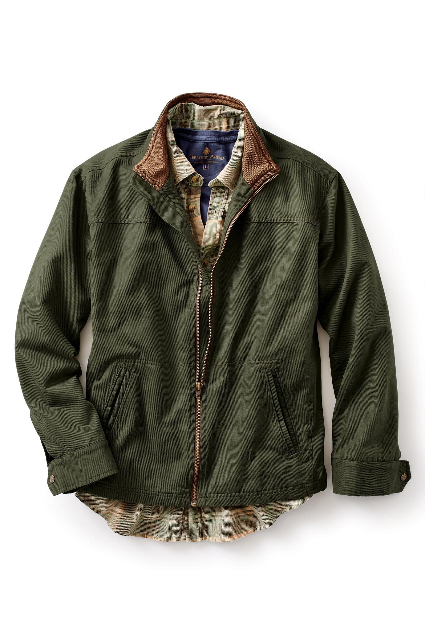 Wax Canvas Jacket | Orvis Heritage Field Coat | Orvis Field Coat