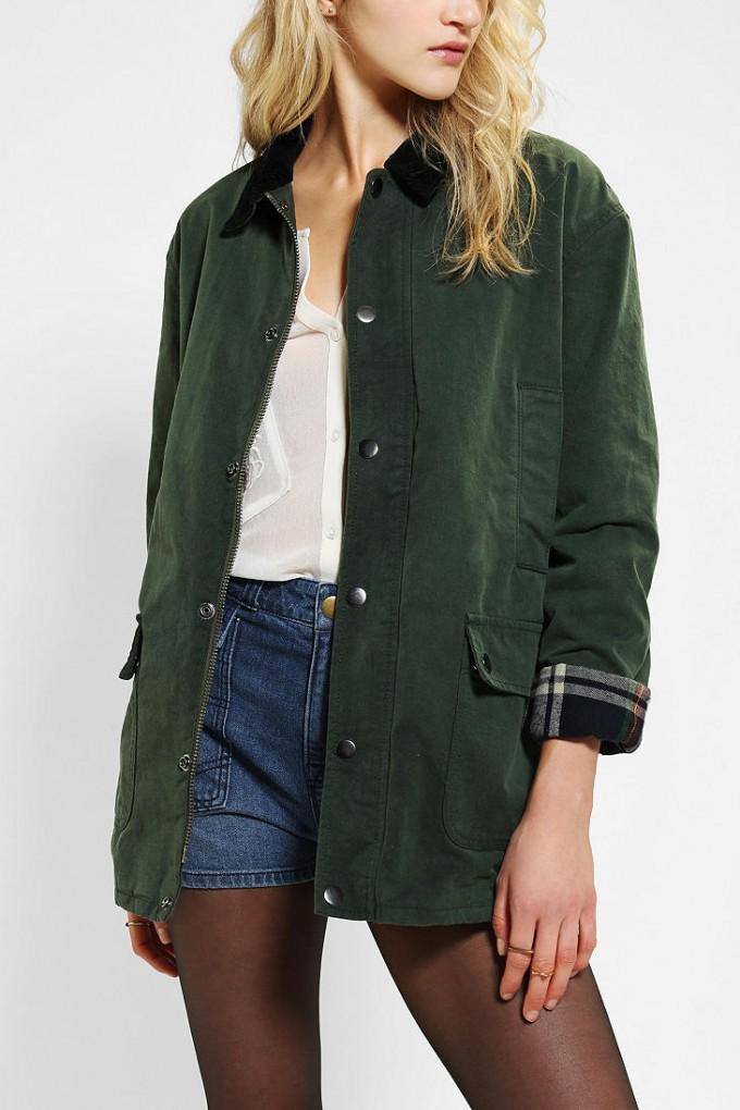 Wax Cloth Jacket | Waxed Trucker Jacket | Waxed Jacket Men