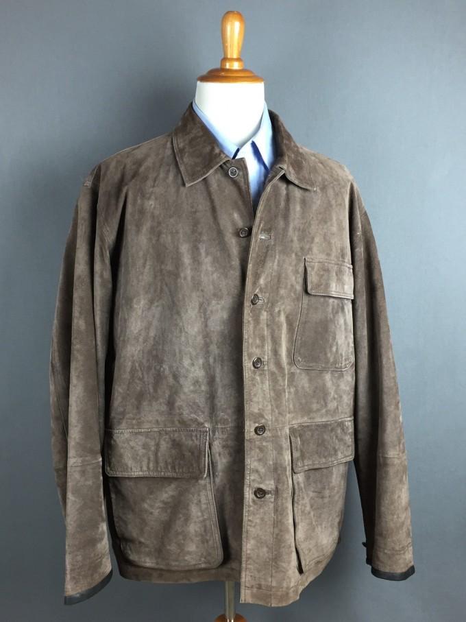 Wax Coated Jacket | Orvis Heritage Field Coat | Orvis Leather Vest