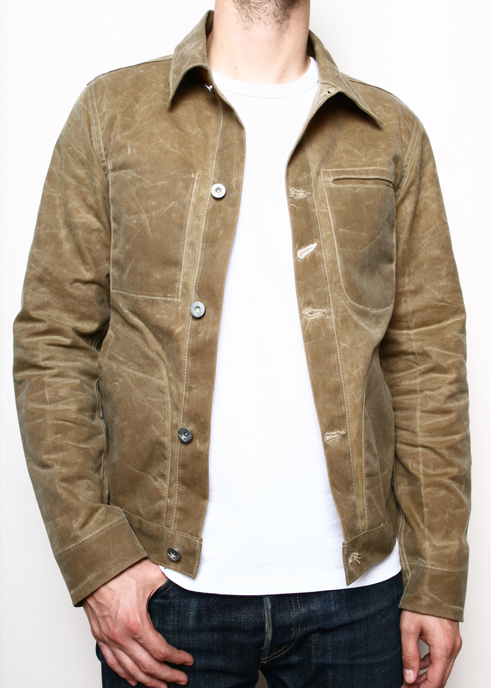 Waxed Canvas Shirt | Orvis Field Jacket | Waxed Trucker Jacket