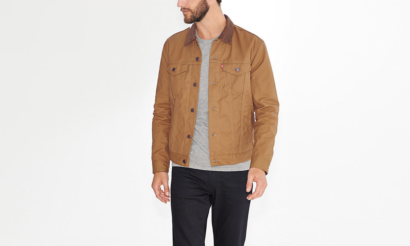 Waxed Carhartt | Flannel Lined Jacket | Waxed Trucker Jacket
