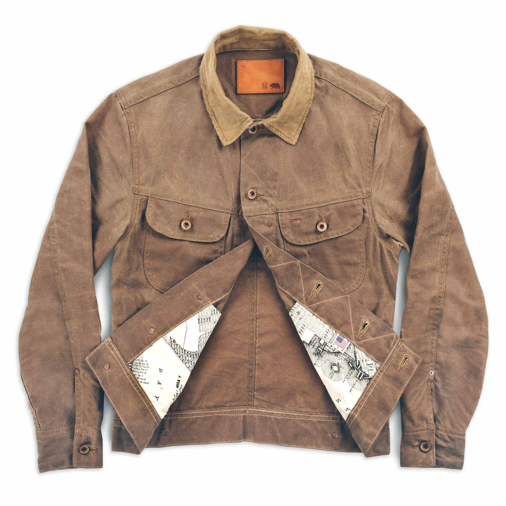 Waxed Cotton Jacket Men | Filson Wax Jacket | Orvis Heritage Field Coat