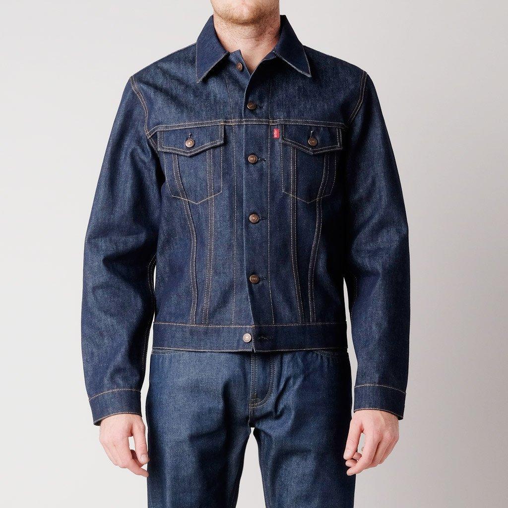 Waxed Cotton Jacket Mens | Waxed Trucker Jacket | Flannel Lined Coat