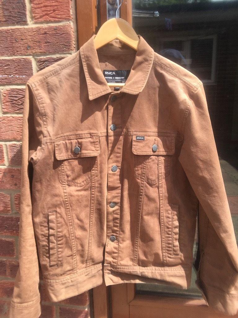 Waxed Cotton Motorcycle Jacket | Mens Cotton Canvas Jacket | Waxed Trucker Jacket