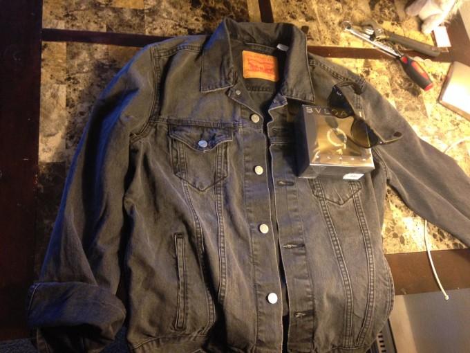 Waxed Cotton Raincoat | Waxed Trucker Jacket | Waxed Coats Mens