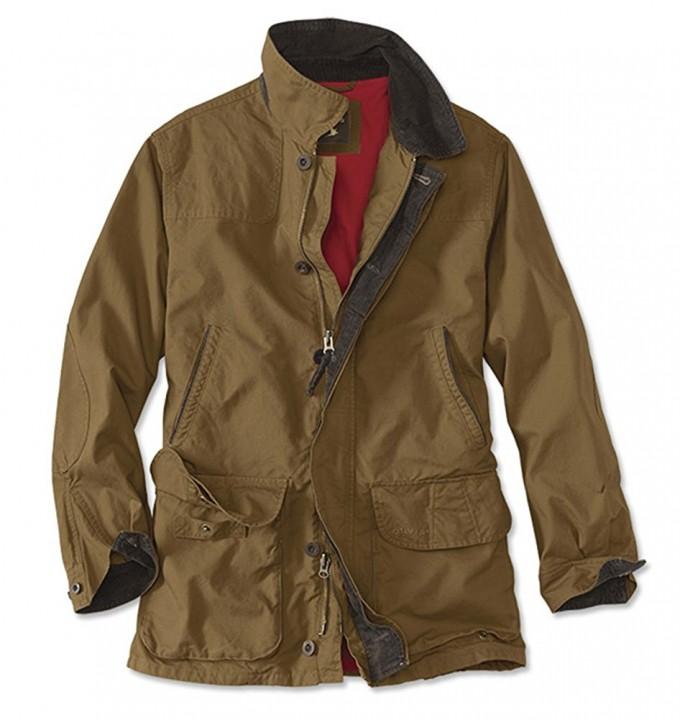 Waxed Jackets | Orvis Heritage Field Coat | Waterproof Canvas Jacket