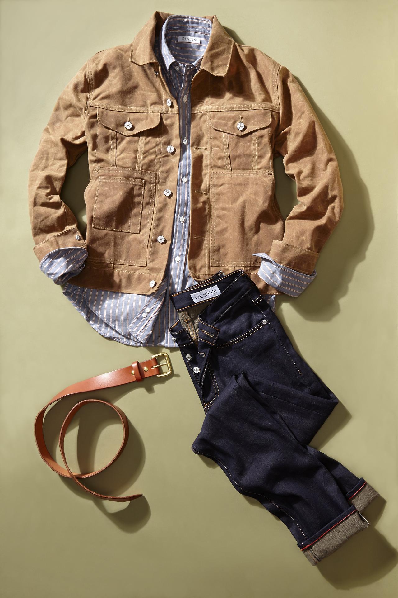 Waxed Military Jacket | Waxed Trucker Jacket | Orvis Heritage Field Coat