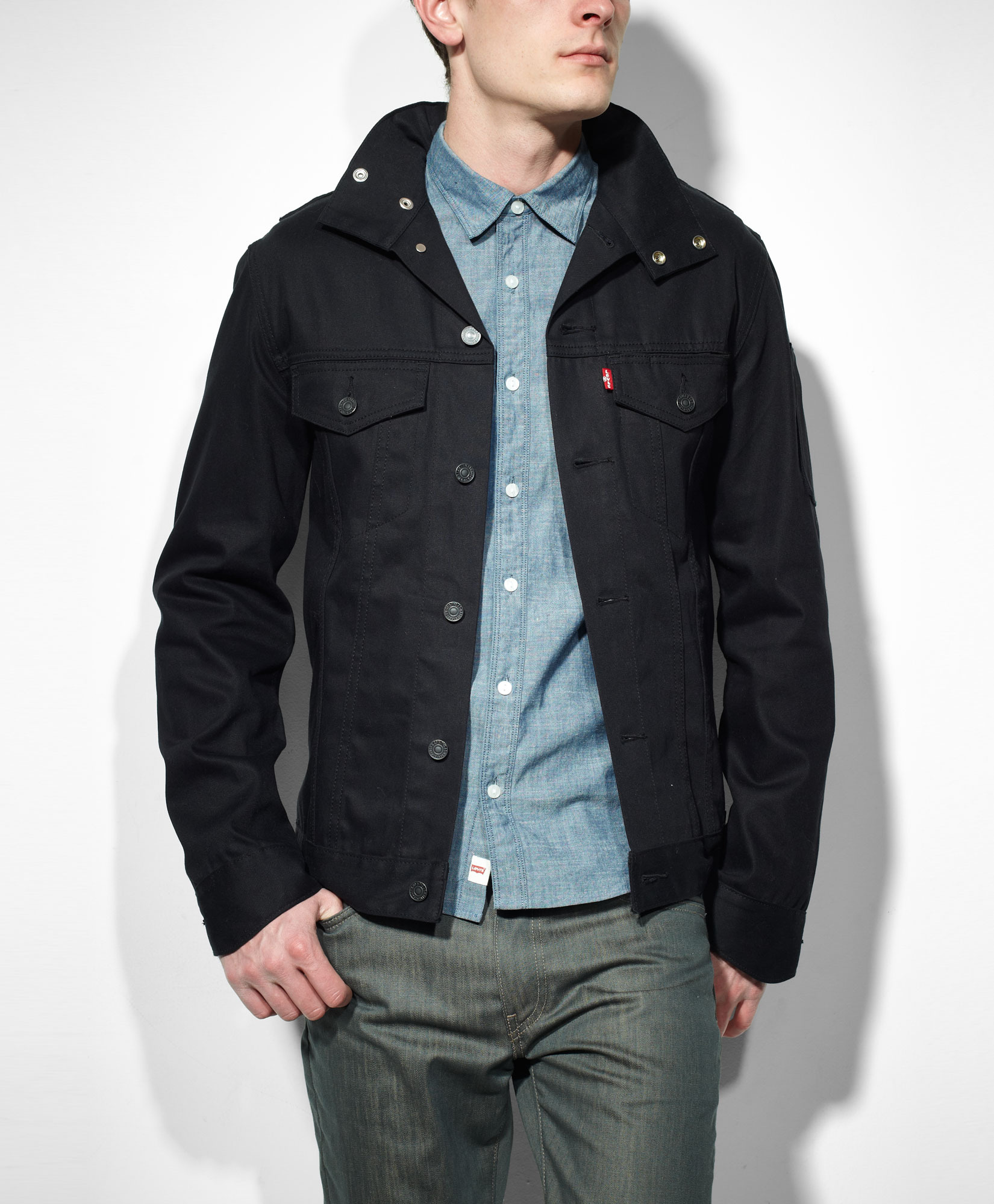 Waxed Trucker Jacket | Carhartt Trucker Jacket | Mens Waxed Cotton Jacket