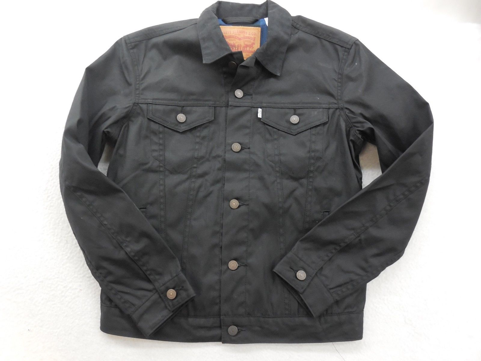 Waxed Trucker Jacket | Wax Motorcycle Jacket | Iron And Resin Rambler Jacket
