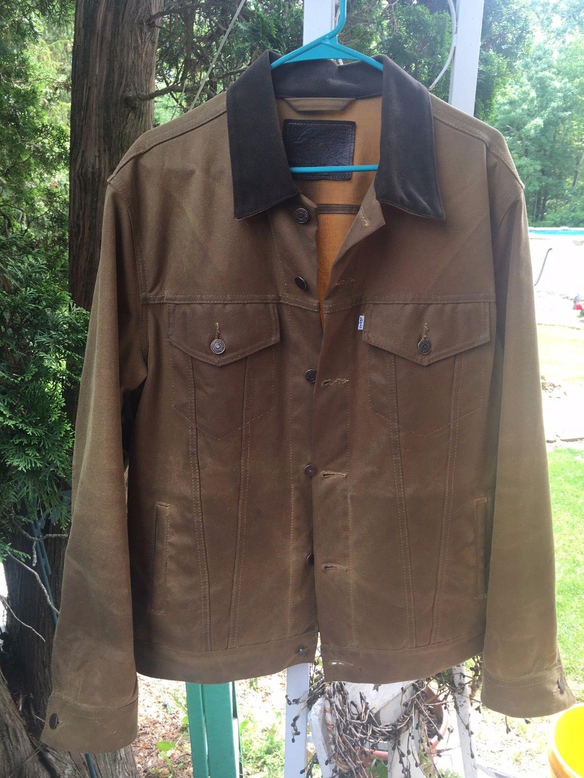 Waxed Trucker Jacket | Waxed Military Jacket | Waterproof Denim Jacket