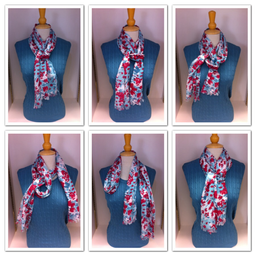 Ways to Wear Scarves | Muffler Neck Scarf | Scarf Knots