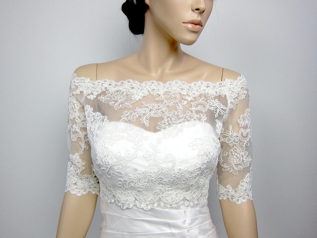 Wedding Dress Shrugs Lace | Lace Shrug | 89th and Madison Cardigan