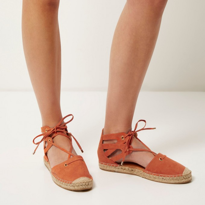 Wedge Espadrilles Open Toe | Nude Espadrille Wedges | Espadrilles Tie Up