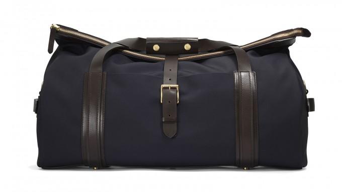 Weekender Bag For Men | Leather Duffle Bag | Mens Canvas Duffle Bag