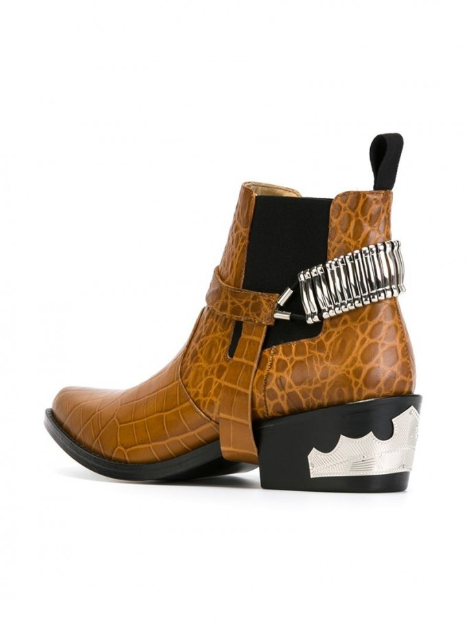 Western Ankle Boots | Western Ankle Boots For Women | Womens Black Square Toe Cowboy Boots