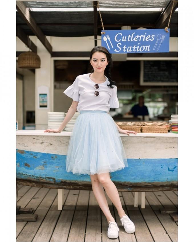 Where Can I Buy A Tulle Skirt | Tulle Midi Skirt | Lavender Tulle