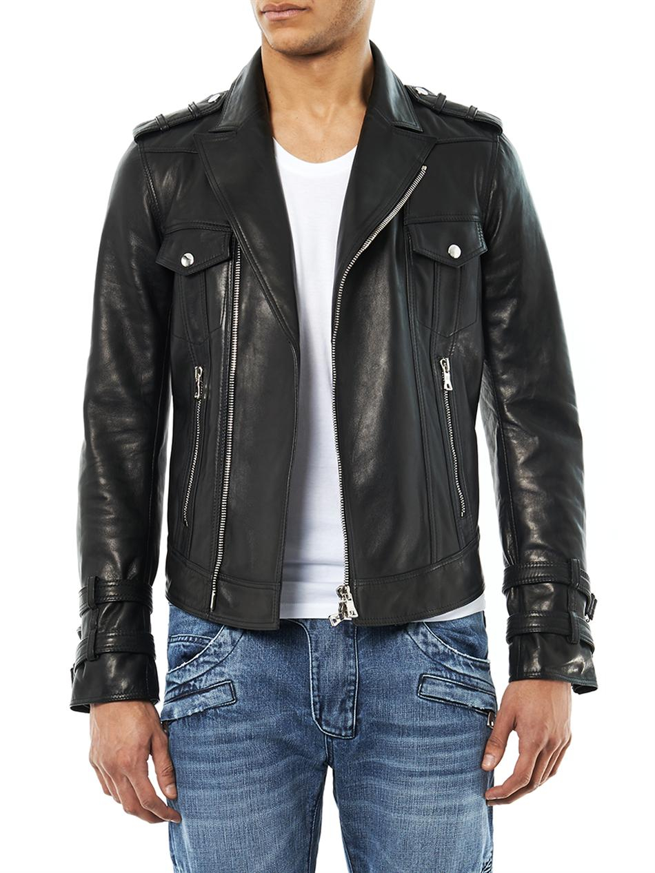 White Balmain Jeans Mens | Balmain Leather Jacket | Balmain Sweatshirt