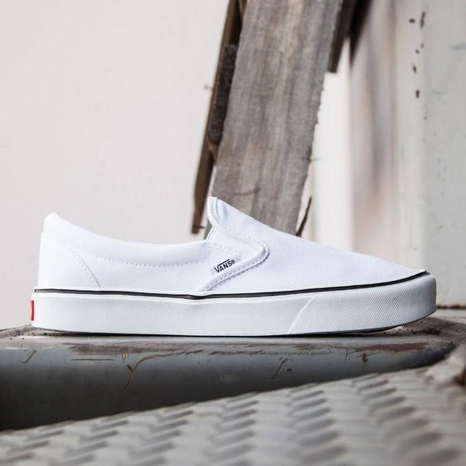 White Van Slip Ons | Vans Old Skool Gum Sole | Vans Hawaiian Shoes