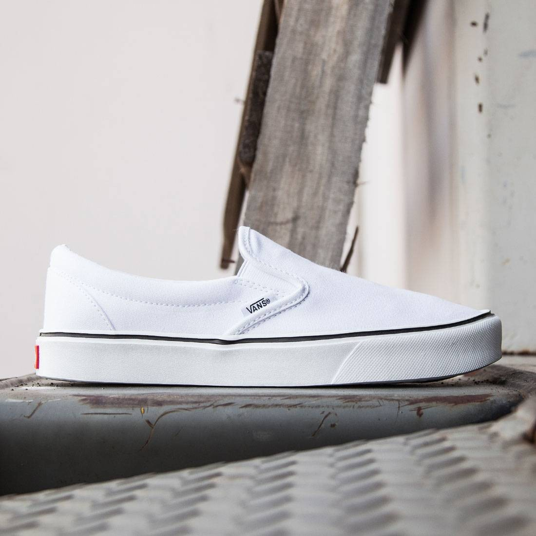 White Van Slip Ons | Vans Old Skool Gum Sole | Vans Hawaiian Shoes