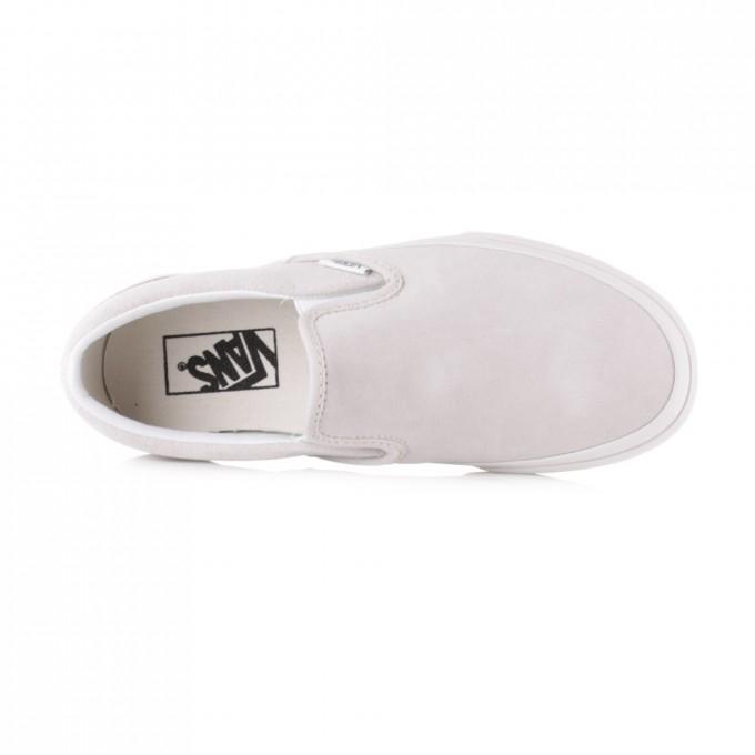 White Van Slip Ons | Vans Slippers | Wss Vans
