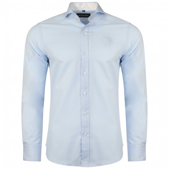 Wide Collar Dress Shirt | Cutaway Shirt | Cutaway Collar