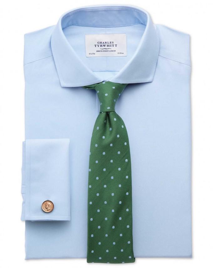 Wide Spread Collar Dress Shirts | Cutaway Collar | Full Cutaway Collar