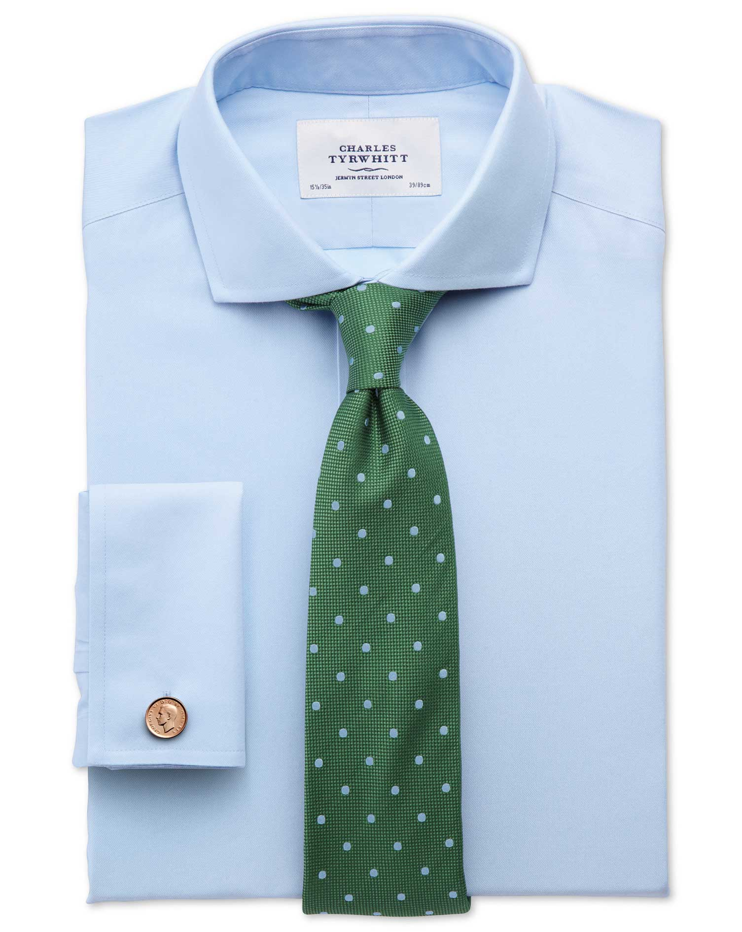 Wide Spread Collar Dress Shirts | Cutaway Collar | Full Cutaway Collar