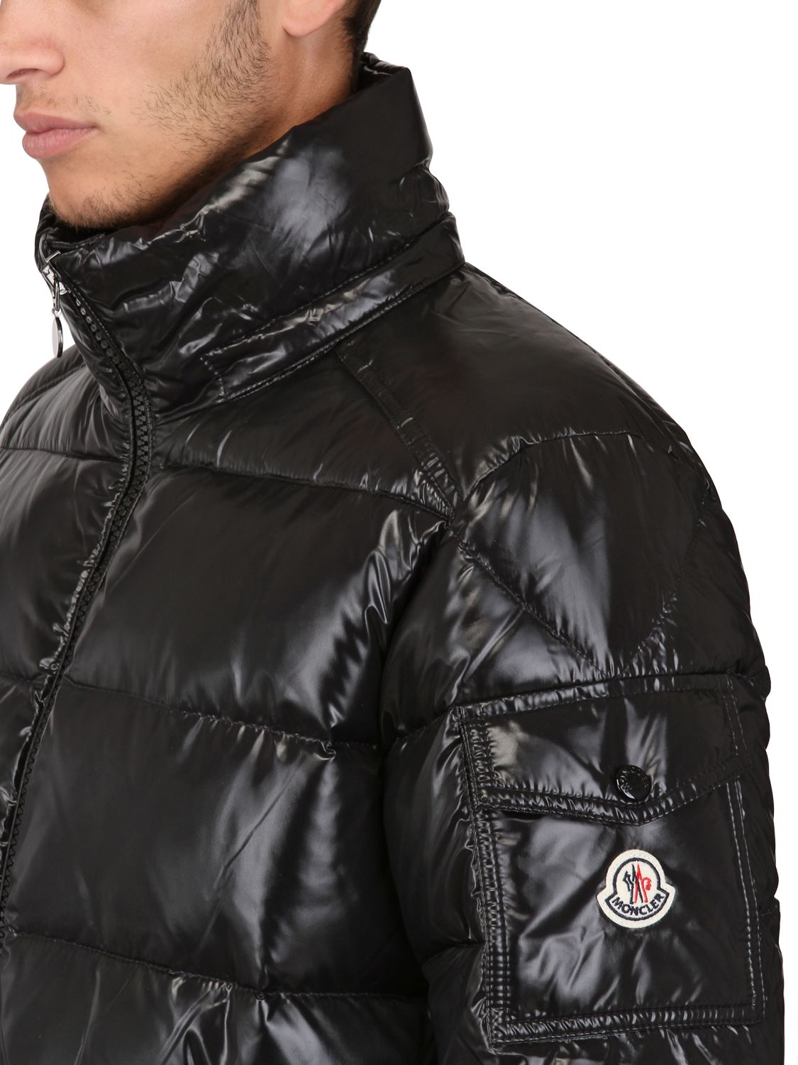 Winsome Balmain Leather Biker Jacket | Beautiful Moncler Maya