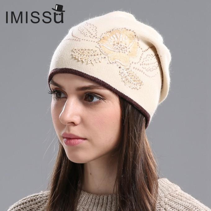 Womens Earflap Hat | Fur Pom Beanie | Beanie Hats For Women