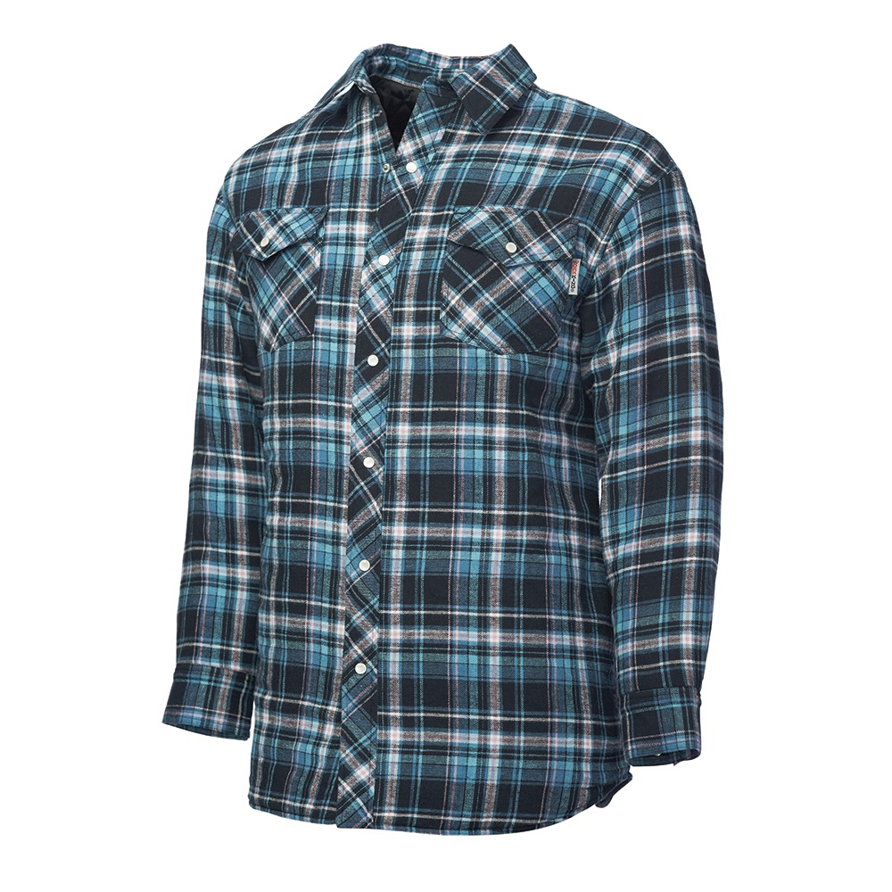Women's Fleece Lined Flannel | Wolverine Flannel | Quilted Flannel Shirt