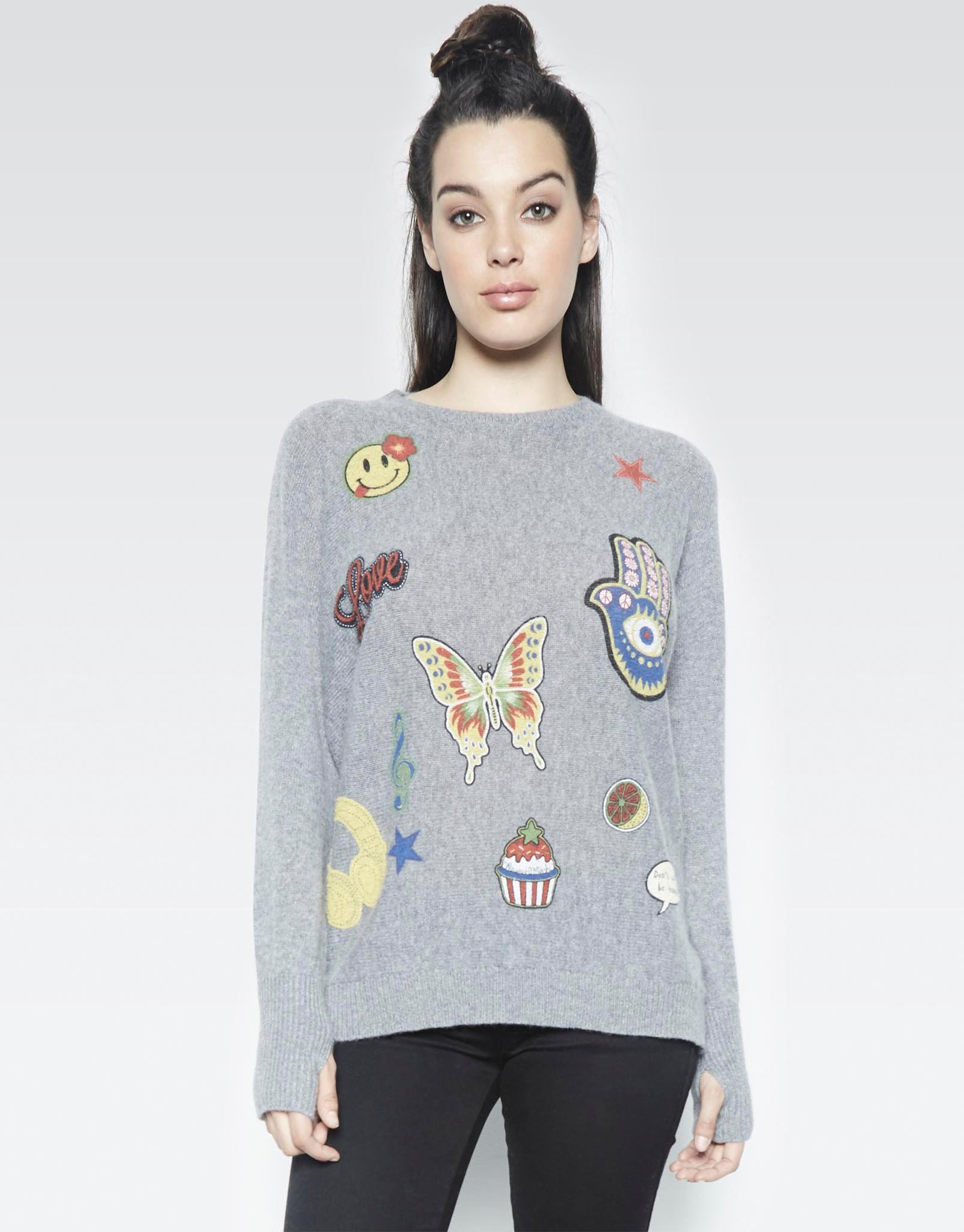 Womens Shirts with Thumb Holes | Thumbhole Sweater | Kids Jackets with Thumb Holes