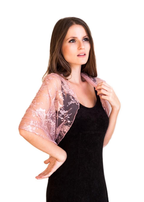 Womens Shrugs | Lace Shrug | Long Sleeve Shrug